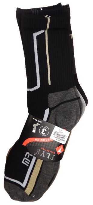 BUSINESS/SPORT SOCK 3PR/PK TLYS