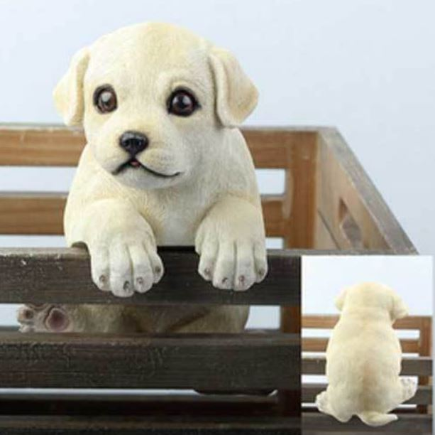 Fence Animal - Little Puppy - Labrador