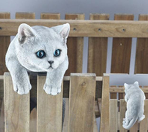 Fence Animal - Cat