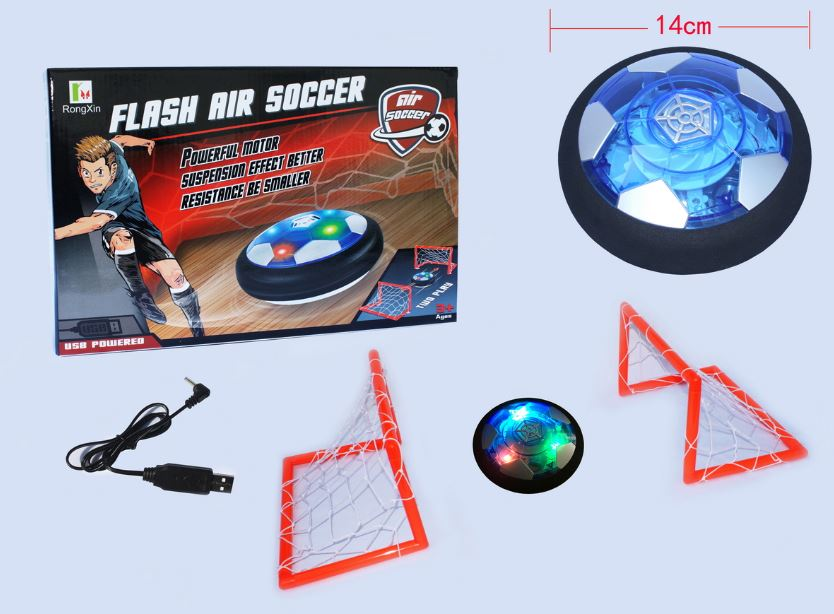 Air Soccer Game with Flashing Light