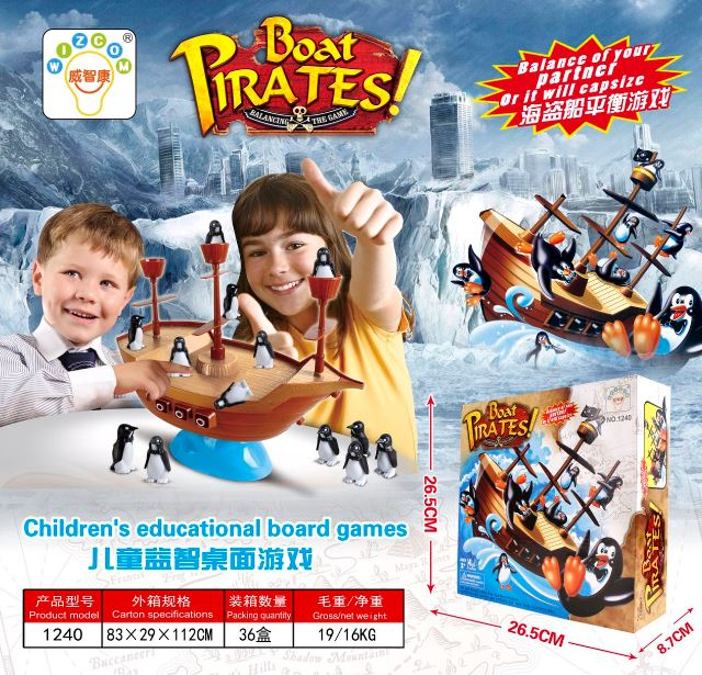 Boat Pirates Game