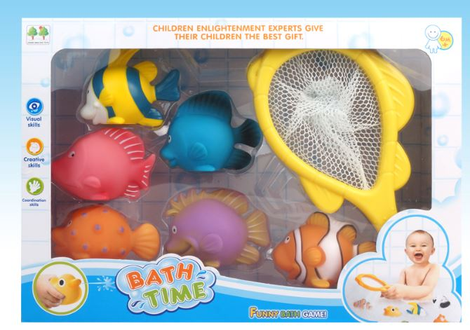 Bath Set Fishes and Net
