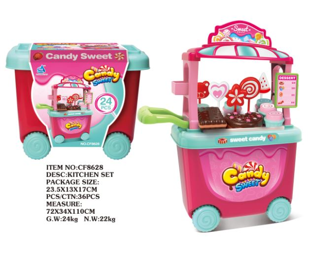 Candy Cart Set 24PC
