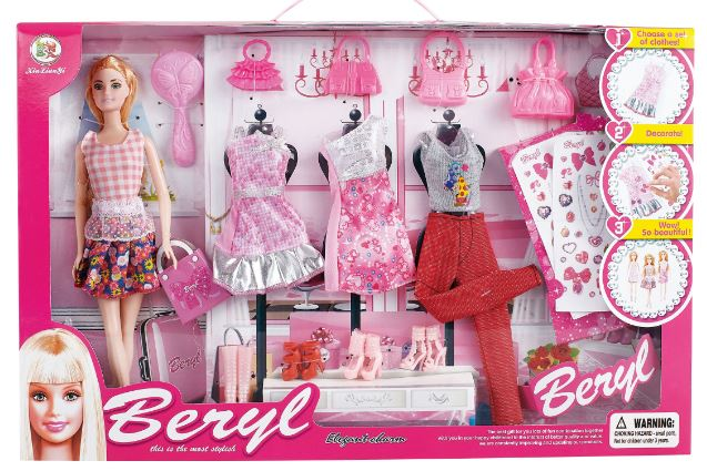 Doll Dress Up set with Accessories