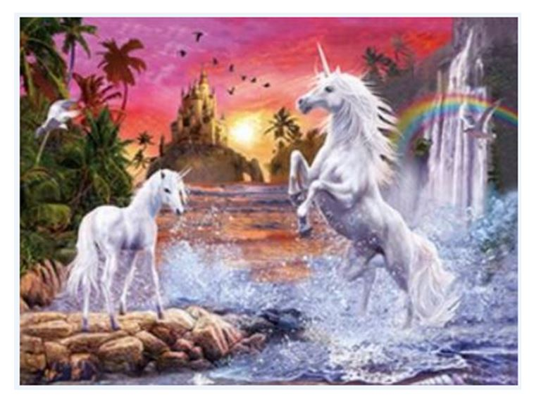 4D ART UNICORNS