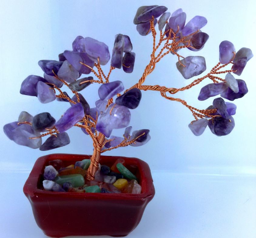 GEMSTONE TREE SMALL AMETHYST