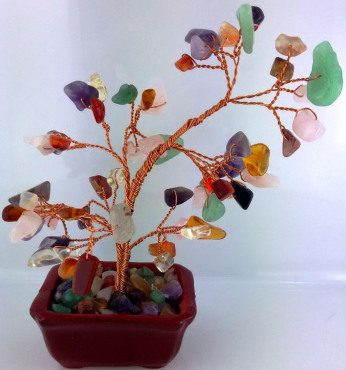 GEMSTONE TREE SMALL MIXED STONE
