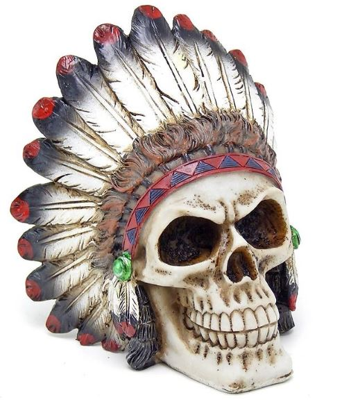 Native American Skull Large