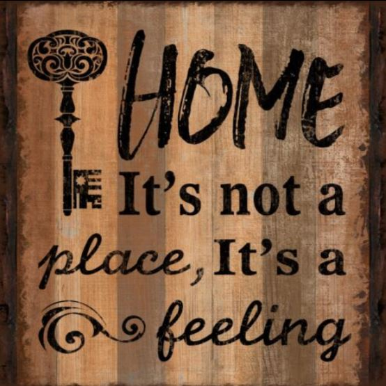 Wall Art - Home is not a Place