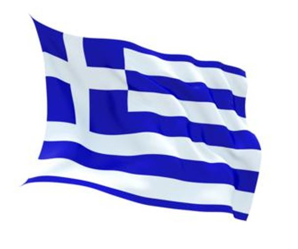FLAG GREECE INDOOR WALL 5x3
