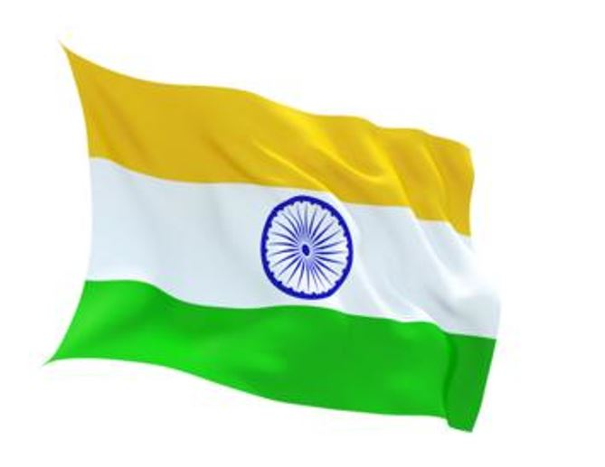 FLAG INDIA INDOOR WALL 5x3