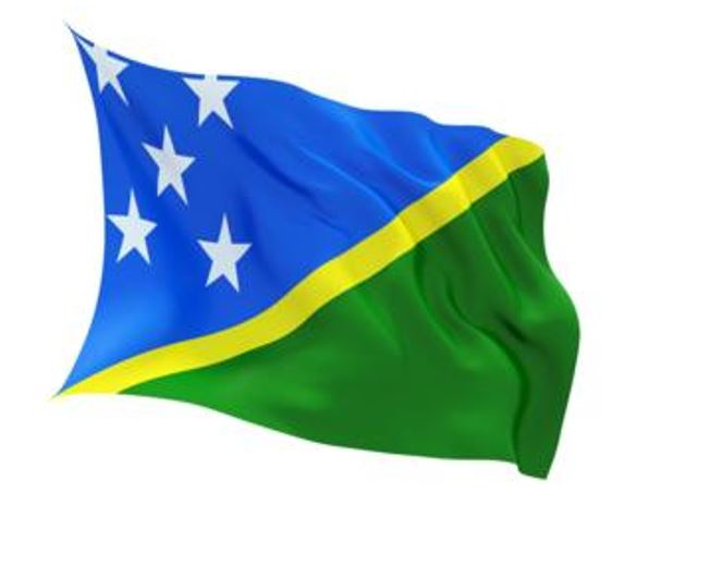 FLAG SOLOMON ISLANDS