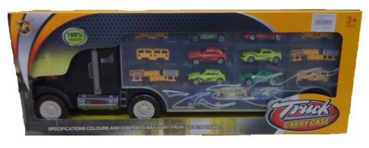 Transporter Truck With Cars