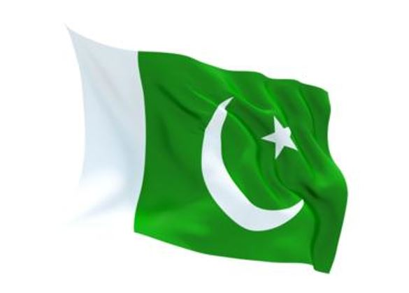 FLAG PAKISTAN INDOOR WALL 5X3