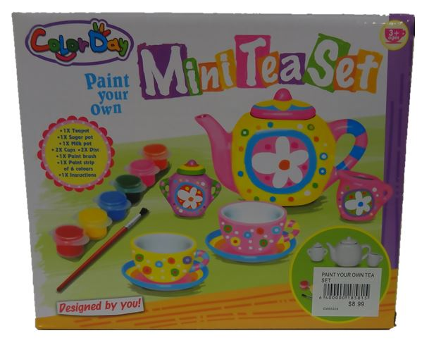 Paint Your Own Tea Set