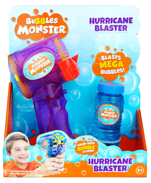 Bubble Gun Hurricane Blaster