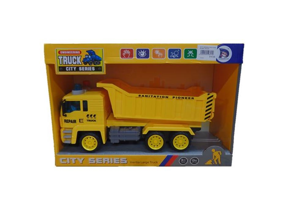 City Series Friction Dump Truck