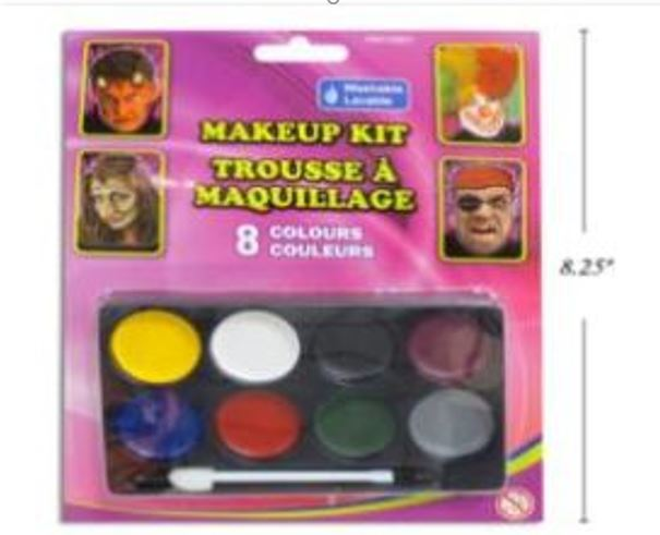 8-COLOR MAKE-UP TRAY W/APPLICATOR. B/C