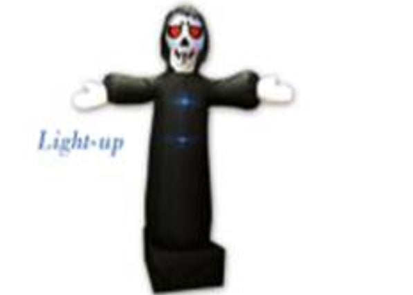 LIGHT-UP 4-LED INFLATABLE GRIM REAPER