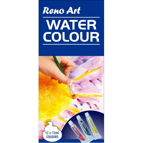 Water Colour Paint 12ml Tube 12pcs