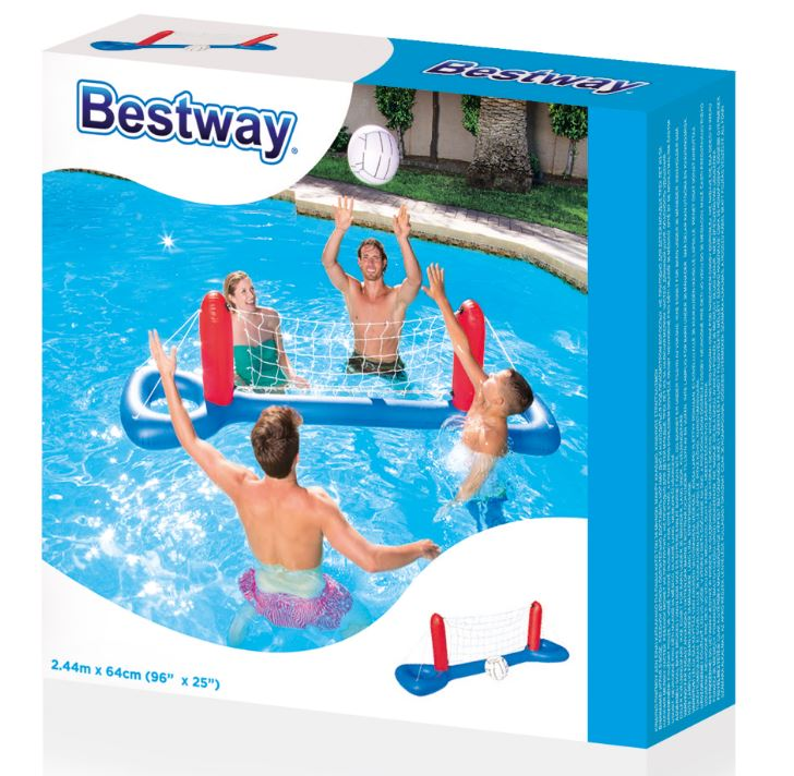Bestway 2.44m x 64cm Volleyball Set
