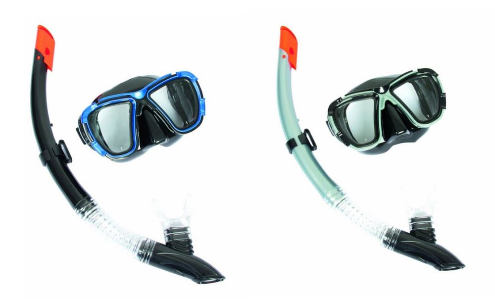 Hydro-Pro BlackSea Mask & Snorkel Set