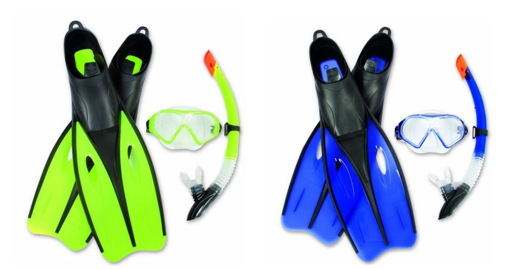 Hydro-Pro Dream Diver Snorkel Set - (US 9.5 - 11 EUR 42-44)
