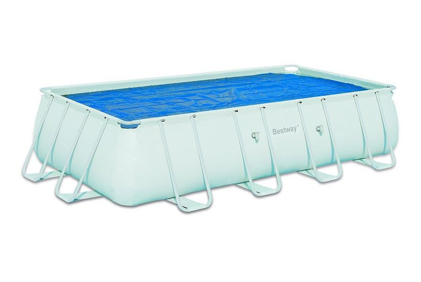 Flowclear 6.71m x 3.66m and 7.32m x 3.66m Solar Pool Cover