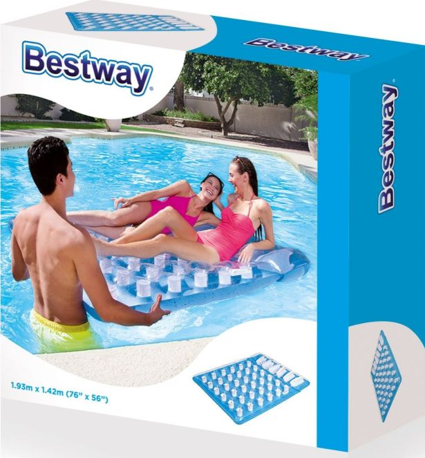 Bestway 1.93m x 1.42m Double Beach Bed