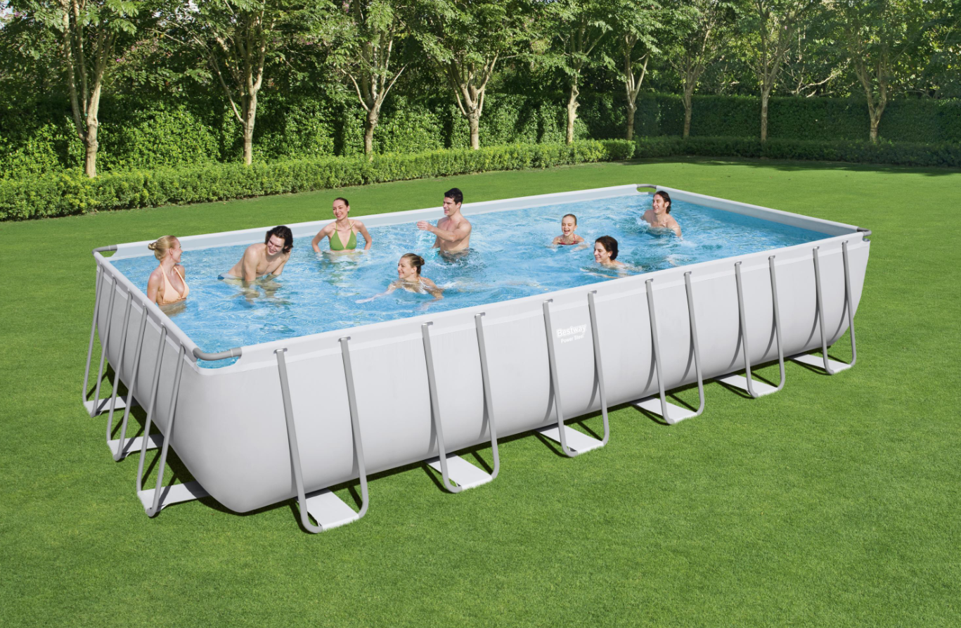POWER STEEL FRAME POOL - 7.32M X 3.66M X 1.32M