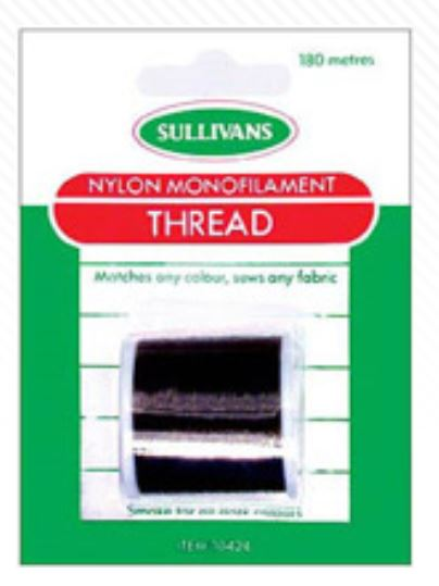 NYLON THREAD BLACK