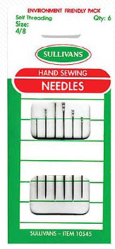 NEEDLES HAND SEWING 6PCS