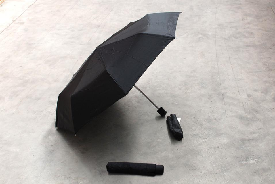 3 FOLD MANUAL OPEN UMBRELLA BLACK