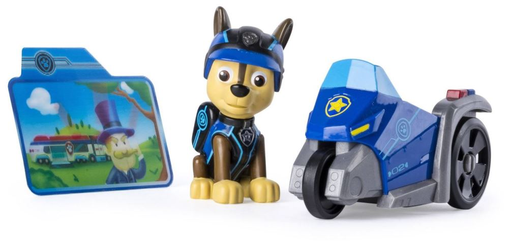 Paw Patrol Mission Paw - Chase's Three Wheeler Vehicle