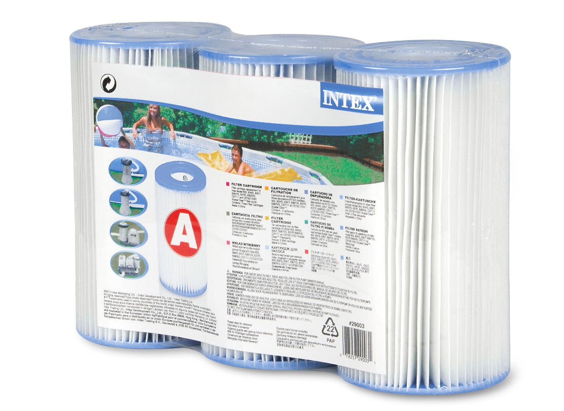 Filter Cartridge A Tri Pack - Intex - 29003