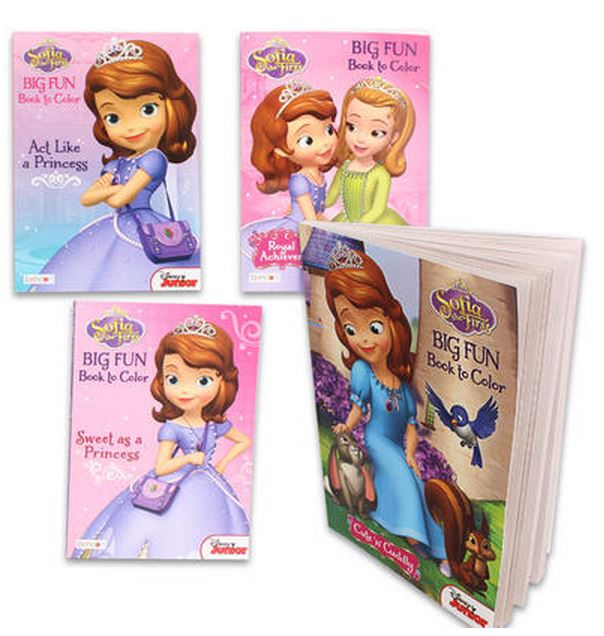 Sofia the First Colouring Book