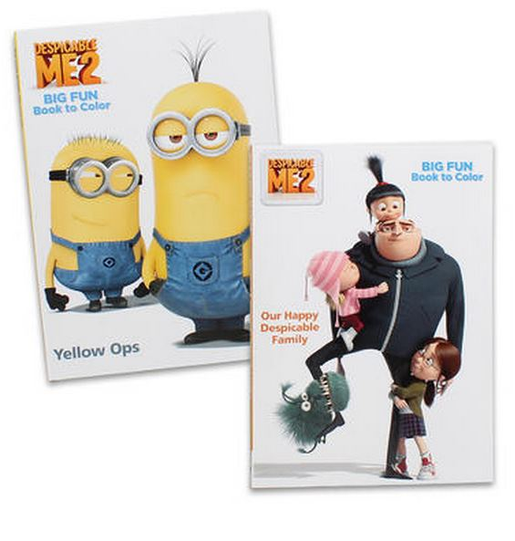 DESPICABLE ME COLOURING & ACTIVITY BOOK