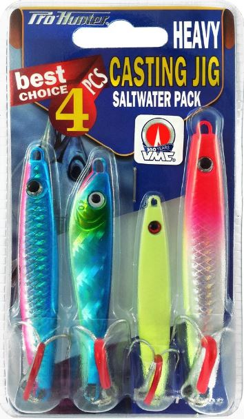 PRO HUNTER CASTING JIG LURE KIT - HEAVY