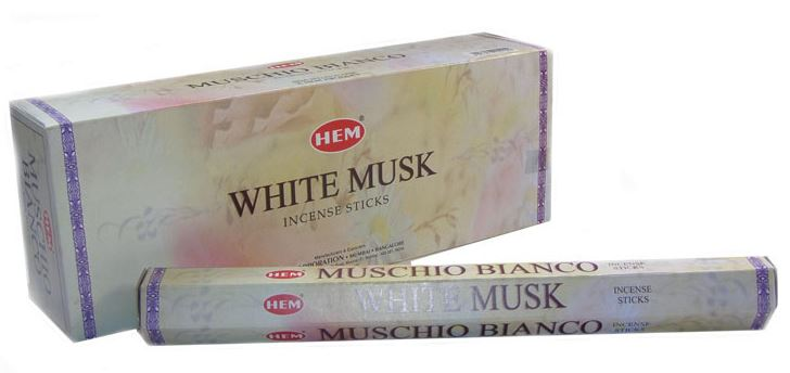 HEM Incense - White Musk - 20pk
