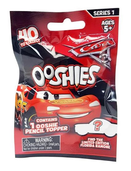 Ooshies - Cars Mystery Bag