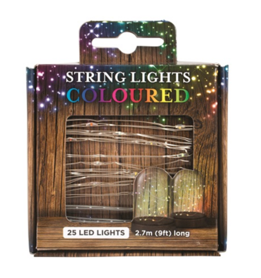 LED STRING COLOUR LIGHTS