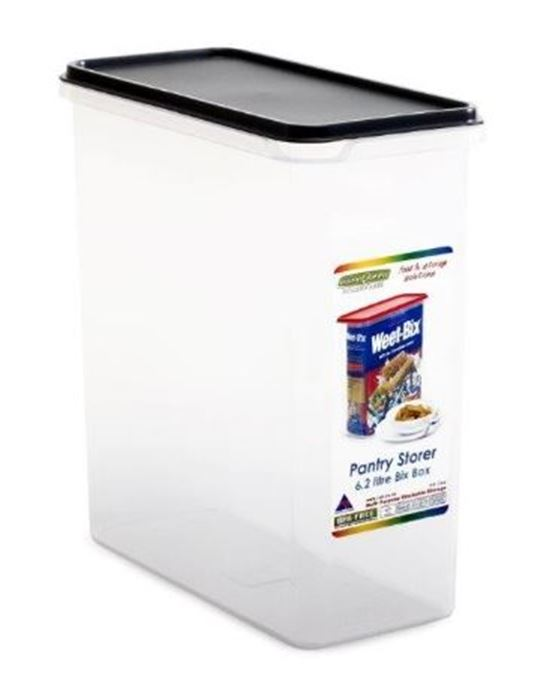 QC STORAGE CONTAINER RECTANGLE 6.2L