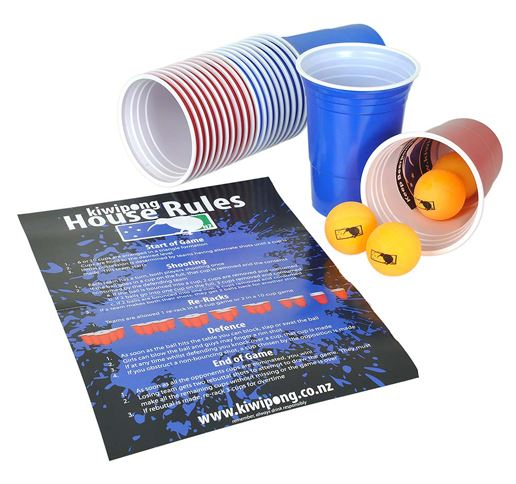 Beer Pong Starter Kit by Kiwipong
