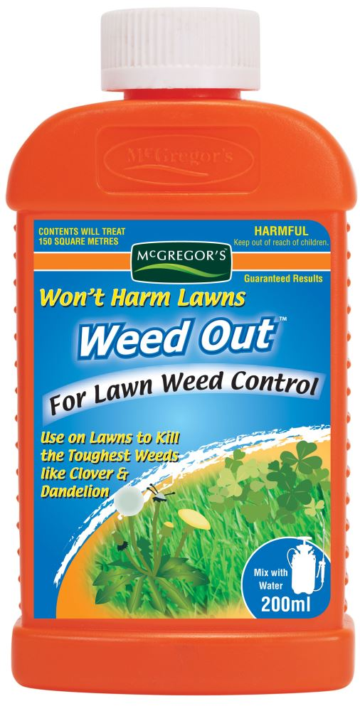 WEEDOUT FOR LAWNS 200ml