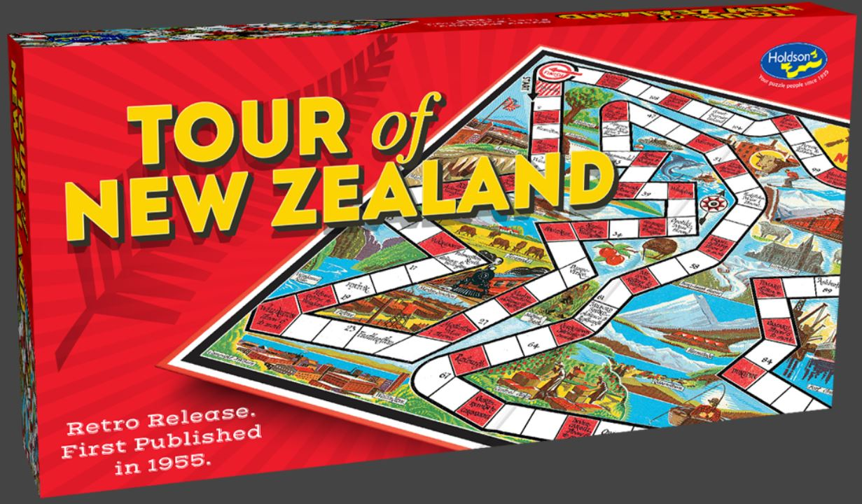 Tour of New Zealand Game