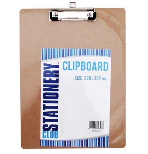 CLIPBOARD WOODEN 228X302
