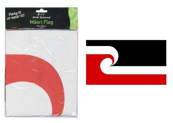FLAG MAORI HANG OR WEAR 90X150CM