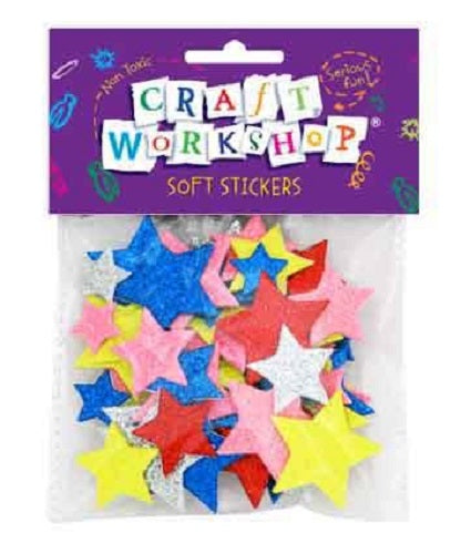 Craft Eva Stickers Stars
