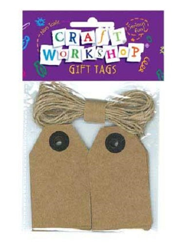 CRAFT GIFT TAGS and JUTE