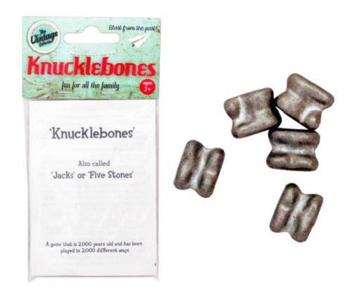 KNUCKLEBONES W/RULES